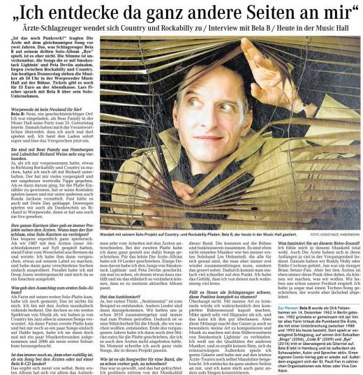 Bela B - Interview