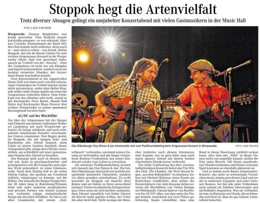 Stoppok + Artgenossen